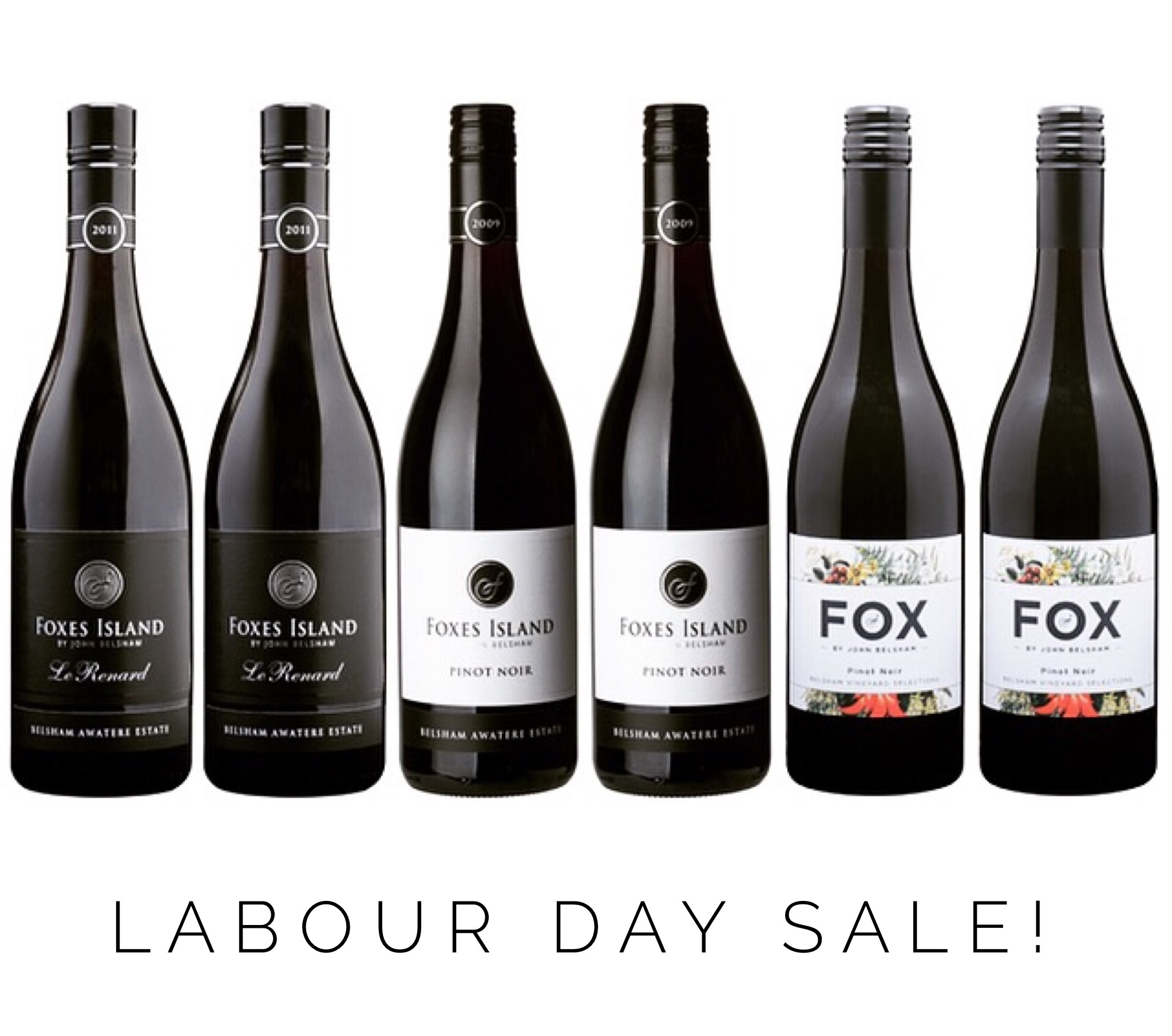 Foxes Island Labour Day Sale